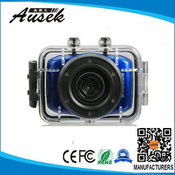 waterproof sport camera with touch screen support OEM from factory