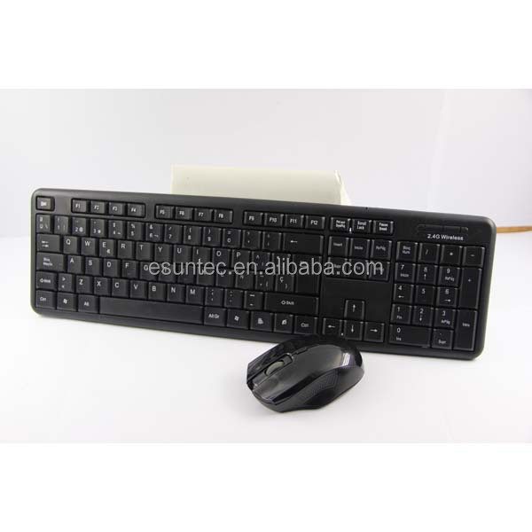 2.4G Wireless Keyboard and Mouse combo, KMSW-308C