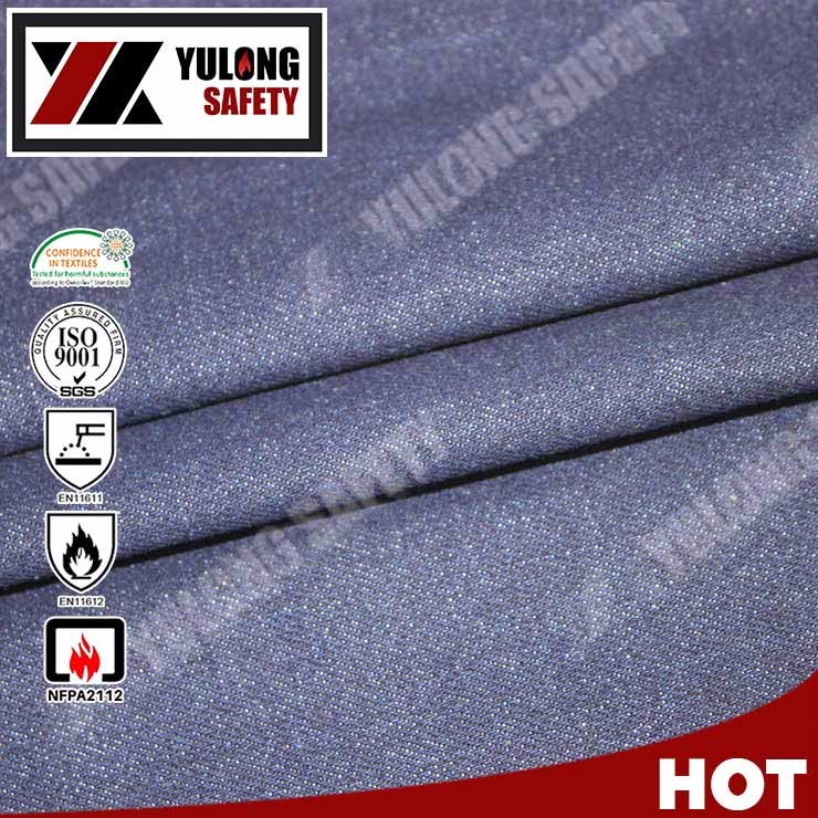 Fire Retardant Cotton Twill High Quality Workwear Fabric For Safety Clothing