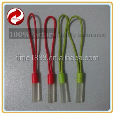 2015 GZ-Time Factory zip puller head,pvc string sliders puller,bra string pvc sliders hooks puller