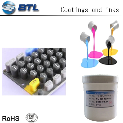 silicone conductive ink printing