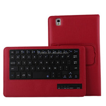 China Factory Custom High quality leather Bluetooth keyboard case for Samsung Galaxy Tab Pro 8.4 SM-T320