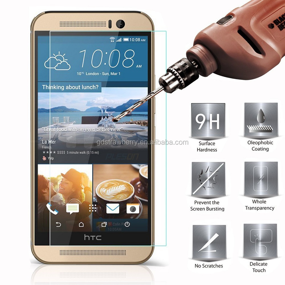 Hot New Product 9h 2.5d Mobile Phone Tempered Glass Screen Protector For Htc