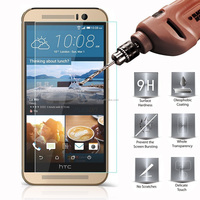 Hot New Product 9h 2.5d Mobile Phone Tempered Glass Screen Protector For Htc One M9 Plus