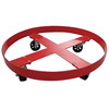 DD001 standard drums dolly with rubber caster wheels