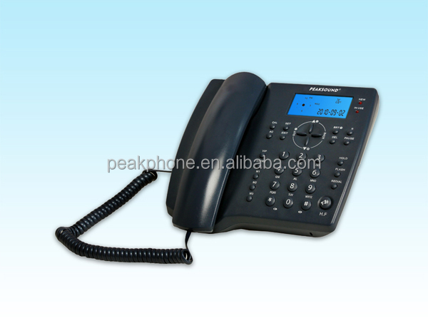 Office Desktop Telephone Corded Backlight Table Phones