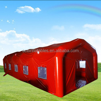 air-tight inflatable house tent with floor