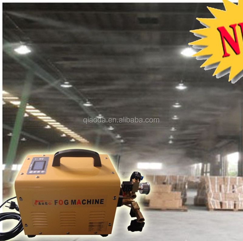 High pressure indoor mist cooling system low price fog machine