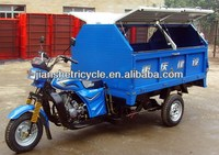China high quality garbage tricycle/cabin cargo tricycle