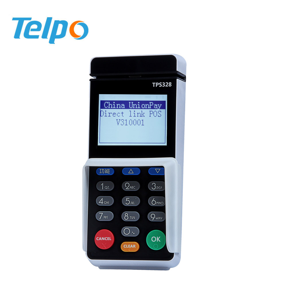 China manufacture Touch Panel mobile credit card reader With Keypad
