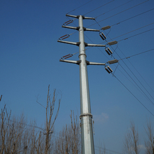 Factory Price Transmission Electric Pole for Electricity Towers