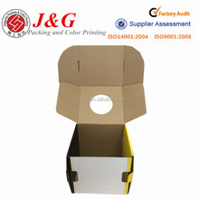 New design folding corrugated carton box mail box for online wholesale shop
