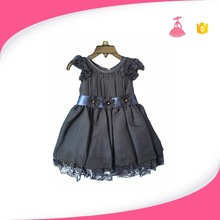 2017 new model baby summer dress children lace dresses patterns