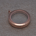 30mm new styles super quality open rose gold costume jewelry lockets