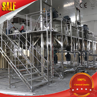 hot sale cosmetic manufacturing plant/chemical machinery/ reactor