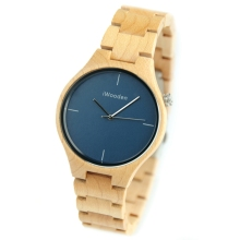 Factory OEM Japanese Movt Quartz Custom Design Wooden Watch Wood Unisex