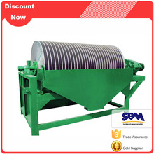 Mining separating equipment RED magnetic separator drum rare earth