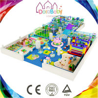 HSZ-K139 New Series Store Theme Park Amusement Kids Naughty Castle, Playground Equipment Supplier