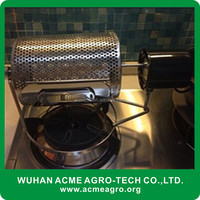 ACME fully automatic coffee bean roasting machine/home use coffee roaster/probat 1kg coffee roaster