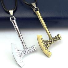YRG181 Huilin Axe Shape With Chinese Dragon Jewelry Viking Necklace