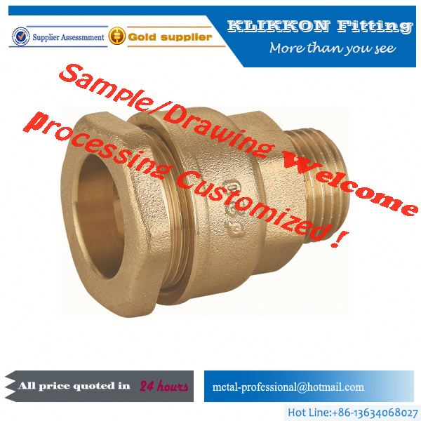 brass 90 degree tee pipe cross connectors