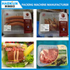 High quality vertical MAP vacuum tray sealer for raw meat and cooked meat packaging