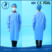 100 cotton dressings gowns ,surgical protective clothing