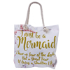 ginzeal hot sell fashion colorful summer printed promotional cotton canvas tote beach bag