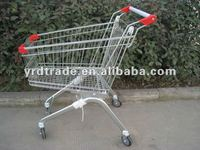 supermarket european style shopping trolley