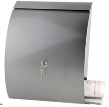 stainless steel mailbox inbox mail carton post office box