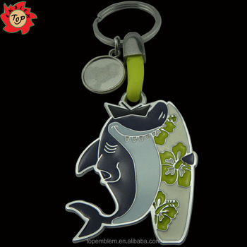 2016 Promotional custom metal keychain
