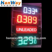 7 segment led display for countdown timer gas station price boards digital