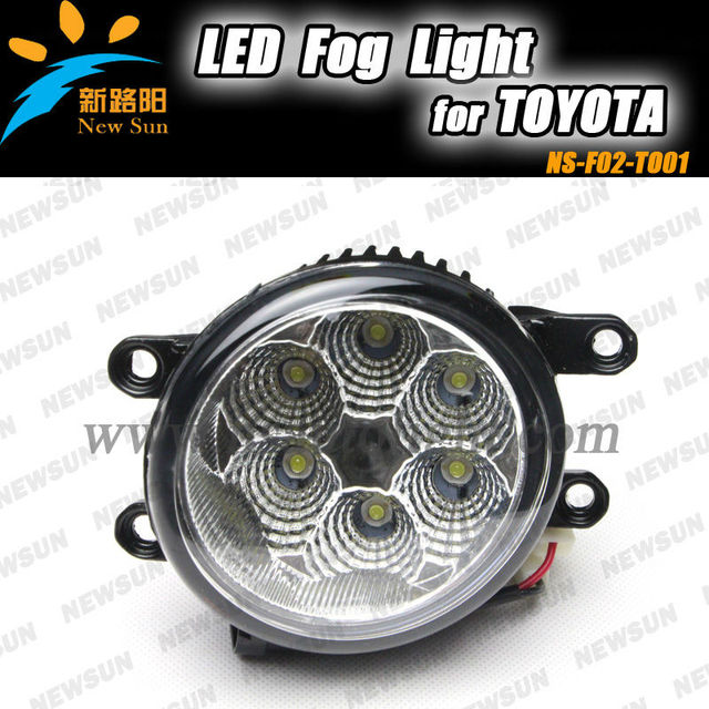 Fit for Toyota Led Drl,daytime running light, 16W 2200LM super bright 12V fog led light in auto lighting system Led front lamp