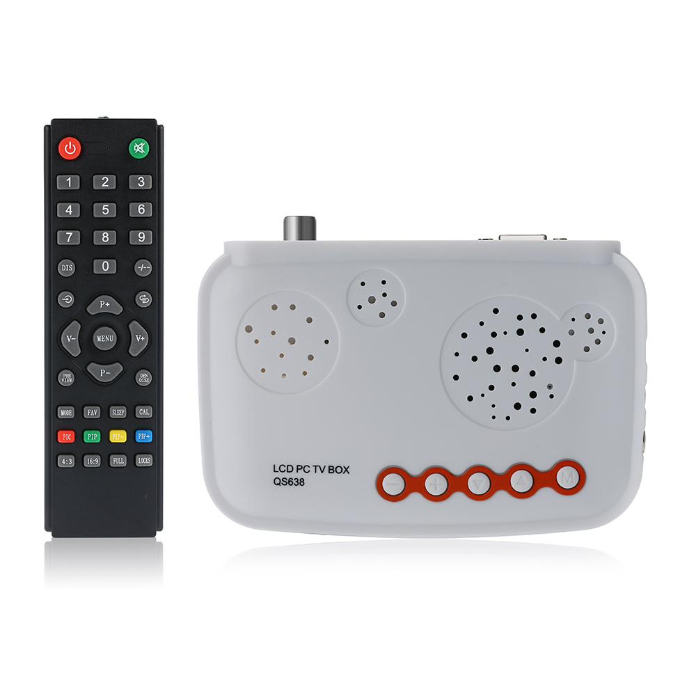 HDTV LCD TV Box / HD Analog TV Tuner Box / CRT Monitor Digital Computer TV Program Receiver