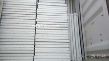 Eco-Friendly Cheapest Light Steel Color Corrugated EPS Sandwich Panel