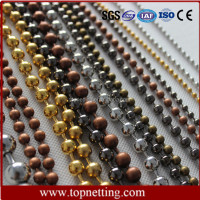 Alibaba manufacturer wholesale stainless steel ball chain curtain import from china