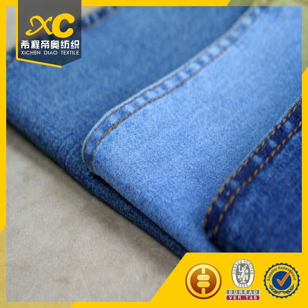 Chinese supplier chambray denim dress fabric