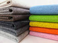 100% colorful wool felt fabric, 5mm thick 100% industrial wool felt