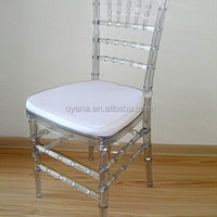 Clear Resin Tiffany Chair