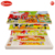 New style wooden educational toys puzzle Multi layer puzzle wild animals and Multi layer puzzle farm animals
