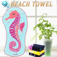 factory 100% Cotton Promotional Advertising cotton reactive printing funny promotion towel