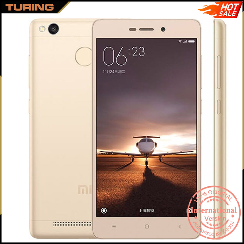 Xiaomi Redmi Red Mi 3S Pro 4G Lte GSM Gprs Location Cell Scrap Mobile Phone 3GB RAM 32GB ROM Android 6.0 Octa Core 13MP