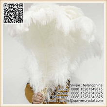 Factory Sale Artificial Cheap Large White Ostrich Feather For Centerpiece
