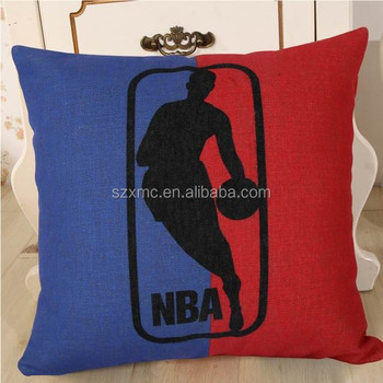 NBA basketball design print sports pillow cover