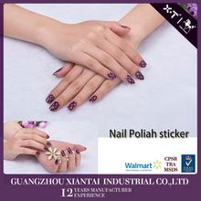 Toe Nails High Quality Water-Transfer Nail Foil Sticker For Nail Art