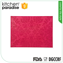 FLGB Certification and heat resistant silicone kitchen mat/hot pad
