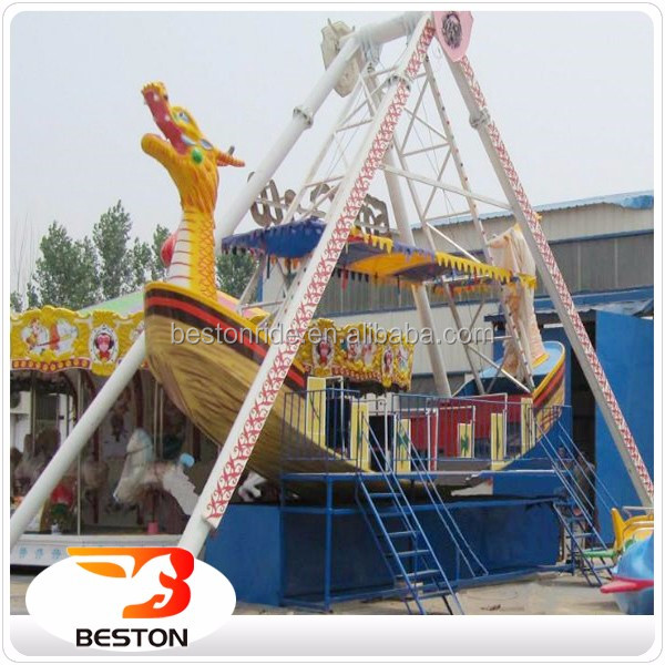 Amusement park outdoor games pirate ship /mini pirate boats for children