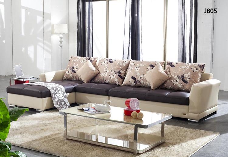 Leather Living Room Furniture Sofa European Style Luxury Living Room Furnitur