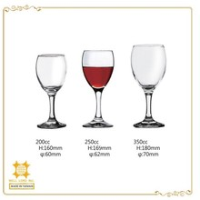 New collection party use red wine glass