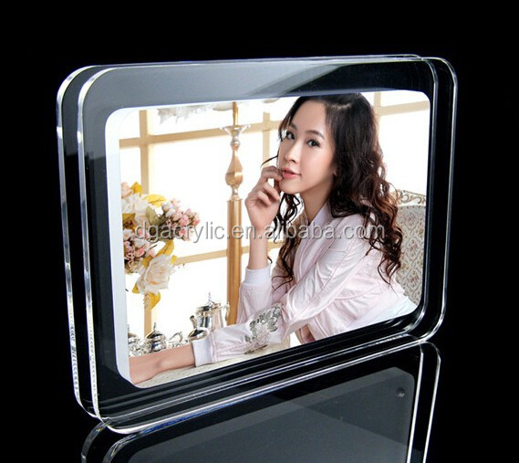 Exquisite Acrylic customized Photo Frame with all kinds of design